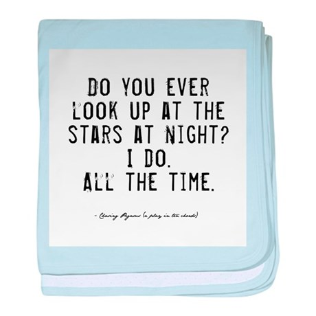 Stars Quote Infant Blanket