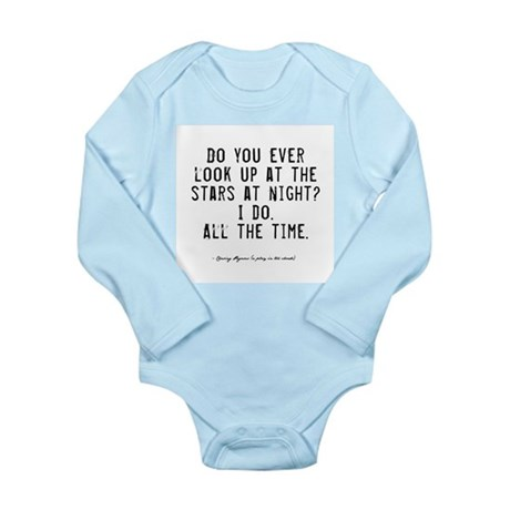 Stars Quote Long Sleeve Infant Bodysuit