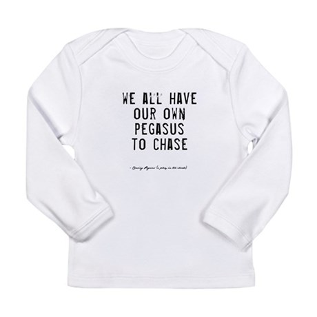 Pegasus Quote Long Sleeve Infant T-Shirt