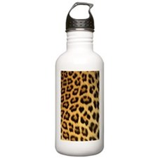 Leopard skin print Sports Water Bottle