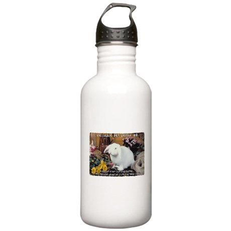 Valuable Pet Lesson #8 Stainless Water Bottle 1.0L