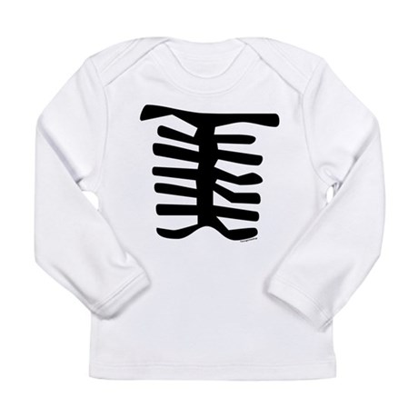Skeleton Long Sleeve Infant T-Shirt