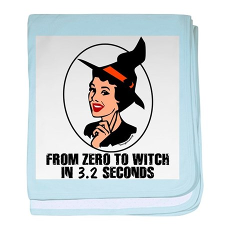 Zero to Witch Infant Blanket