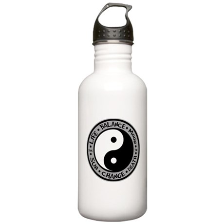 Yin & Yang Meanings Stainless Water Bottle 1.0L