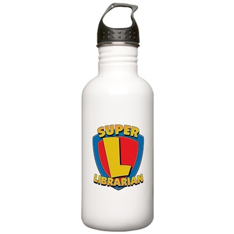Super Librarian Stainless Water Bottle 1.0L