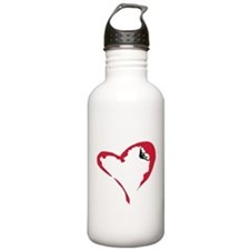 Heart Climber Water Bottle