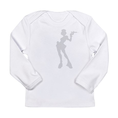 Sexy Nurse Long Sleeve Infant T-Shirt