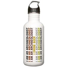Cute Archaeologist Water Bottle