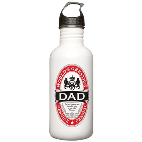 World's Greatest Dad Stainless Water Bottle 1.0L