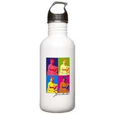 Jane Austen Pop Art Water Bottle