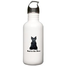 Scottish Terrier Bad to the B Water Bottle 1. Stai