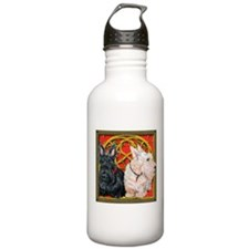 Scottish Terriers Celtic Dogs Water Bottle 1. Stai