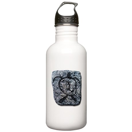 Hawaiian Turtle - stone Stainless Water Bottle 1.0