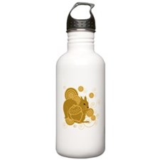 Squirrely Squirrel Water Bottle