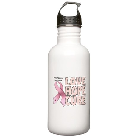 Breast Cancer Awareness Stainless Water Bottle 1.0