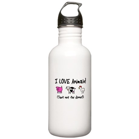Not For Dinner Stainless Water Bottle 1.0L