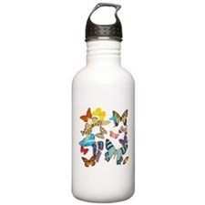 Beautiful Butterflies Sports Water Bottle