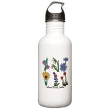 Cute Wildflowers Water Bottle