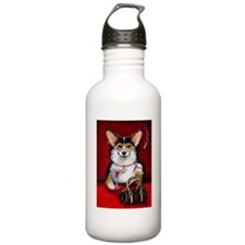 Cosmopolitan Corgi Dog Water Bottle