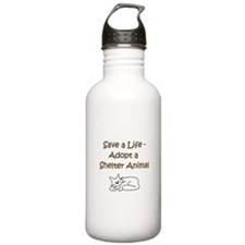 Cat Adoption Water Bottle