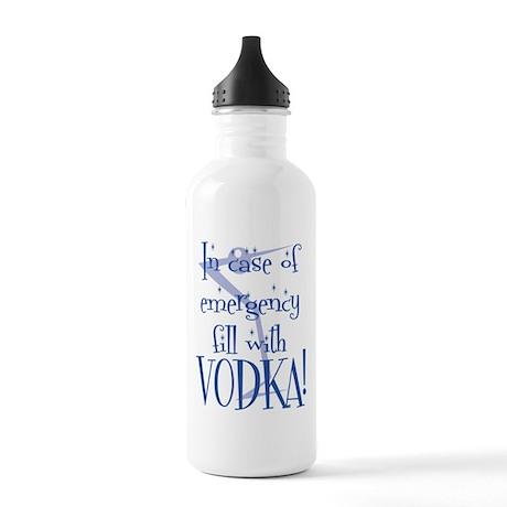 Vodka Stainless Water Bottle 1.0L