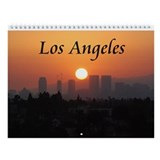 Los Angeles Wall Calendar