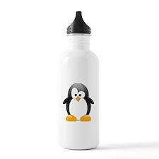 Black Penguin Water Bottle