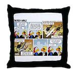 2L0050 - Drug runners vs... Throw Pillow
