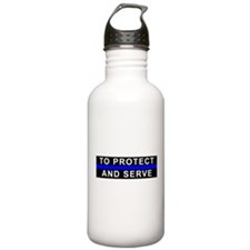 Protect and Serve Water Bottle