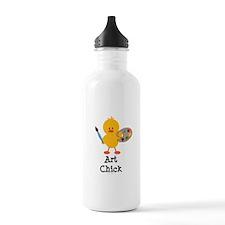 Art Chick Water Bottle