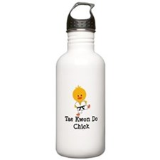 Tae Kwon Do Chick Sports Water Bottle