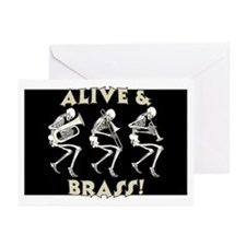 Alive & Brass Greeting Cards (Pk of 10)
