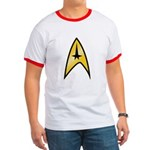 Star Trek Insignia (large) Ringer T