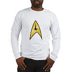 Star Trek Insignia (large) Long Sleeve T-Shirt