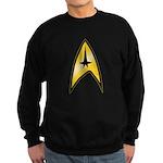 Star Trek Insignia (large) Sweatshirt (dark)