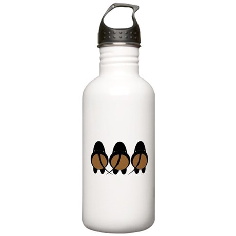 Doxie Butts (Black) Stainless Water Bottle 1.0L