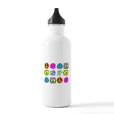 PEACE SYMBOLS Water Bottle