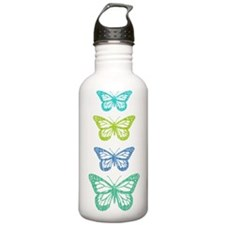 Butterflies Sports Water Bottle