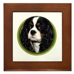 Cavalier Art Framed Tile
