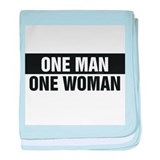 One Man One Woman Infant Blanket