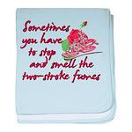 Two-Stroke Roses Infant Blanket