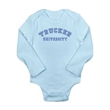 Trucker University Long Sleeve Infant Bodysuit