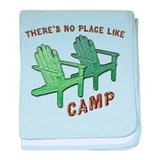 No Place Like Camp - Infant Blanket