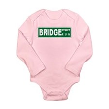 Bridge St Run - Long Sleeve Infant Bodysuit