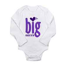 Big Cousin to Be - Long Sleeve Infant Bodysuit