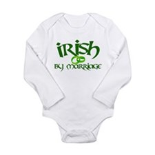 Irish by Marriage - Long Sleeve Infant Bodysuit