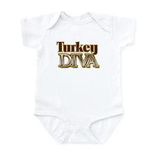 Turkey Diva Infant Bodysuit