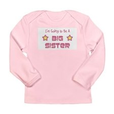 Future Big Sister Long Sleeve Infant T-Shirt