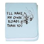 Make My Own Roads Infant Blanket