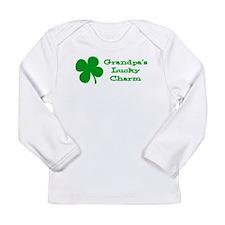 Grandpa's Lucky Charm Long Sleeve Infant T-Shirt